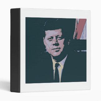 John F. Kennedy 3 Ring Binder