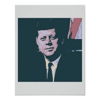 John F. Kennedy 4.25x5.5 Paper Invitation Card