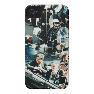 John F Kennedy and Jackie in the Motorcade Dallas iPhone 4 Cover