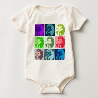 John F Kennedy Baby Bodysuit