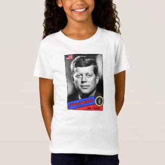 John F. Kennedy Baseball Card T-Shirt