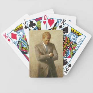 John F Kennedy Bicycle Playing Cards
