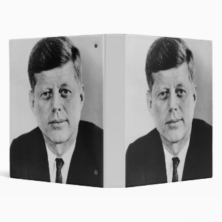 John F Kennedy Binder