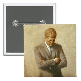 John F Kennedy Button
