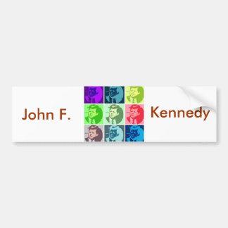 John F. Kennedy Etiqueta De Parachoque