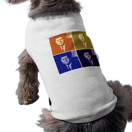 John F. Kennedy Camiseta De Perro