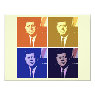 John F Kennedy Card