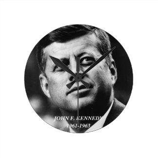 John F Kennedy clock