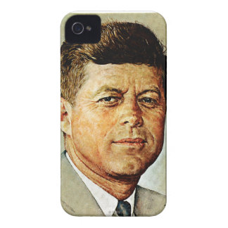 John F. Kennedy EN MEMORIAM iPhone 4 Case-Mate Cárcasa