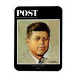 John F. Kennedy EN MEMORIAM Iman Rectangular