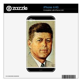 John F. Kennedy EN MEMORIAM iPhone 4 Skin