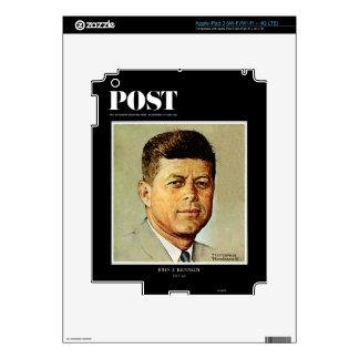 John F. Kennedy EN MEMORIAM iPad 3 Skin