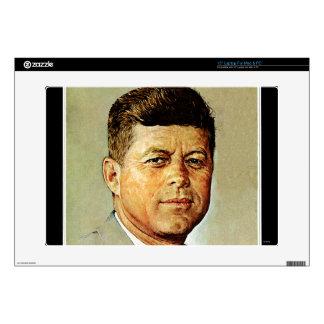 John F. Kennedy EN MEMORIAM Calcomanía Para Portátil