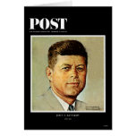 John F. Kennedy EN MEMORIAM Tarjeta De Felicitación