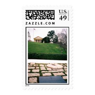 John F. Kennedy Eternal Flame w/Arlington House Po Postage