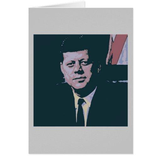 John F. Kennedy Felicitación