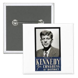 John F. Kennedy for Congress Pinback Button