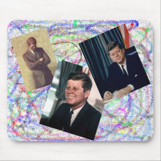 John F. Kennedy Grafitti Mouse Pad
