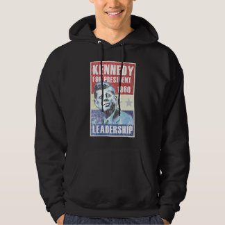 John F. Kennedy Historic President Campaign Poster Hoodie