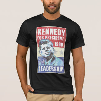 John F. Kennedy Historic President Campaign Poster T-Shirt