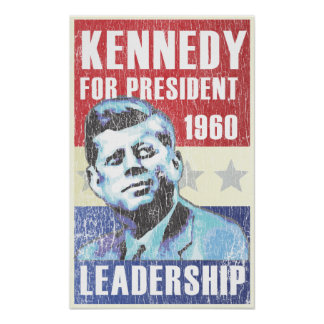 John F. Kennedy Historic Presidential JFK Print