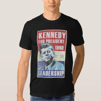 John F. Kennedy Historic Presidential Poster T-shirts