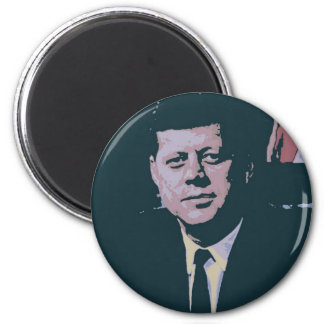 John F. Kennedy Imán Redondo 5 Cm