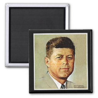 John F. Kennedy IN MEMORIAM 2 Magnet