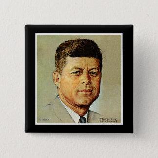 John F. Kennedy IN MEMORIAM Button