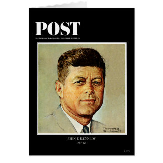 John F Kennedy IN MEMORIAM Greeting Cards