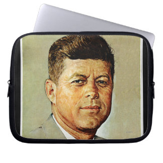 John F. Kennedy IN MEMORIAM Laptop Computer Sleeves