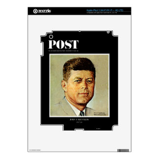 John F. Kennedy IN MEMORIAM Decals For iPad 3