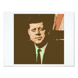 John F. Kennedy Invitación 10,8 X 13,9 Cm