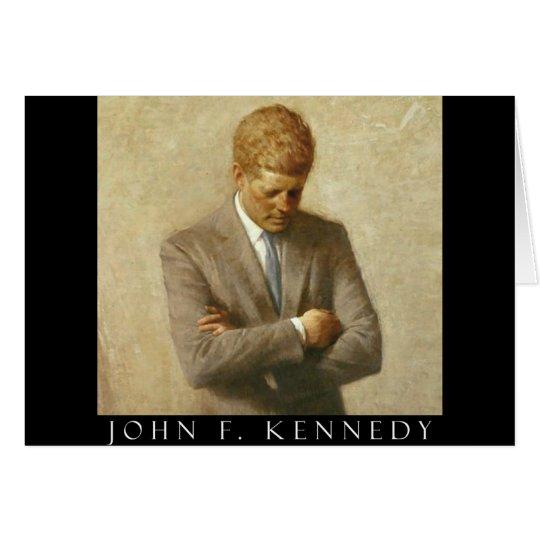 John F. Kennedy Items Card