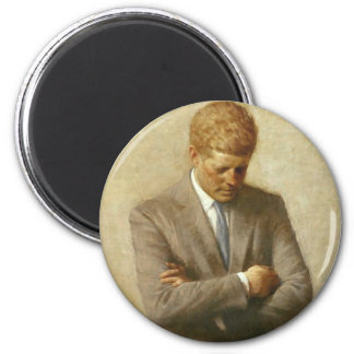 John F. Kennedy Items Magnet