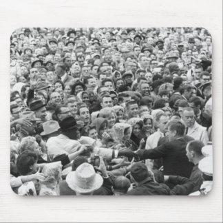 John F Kennedy JFK Fort Worth Rally '63 Mouse Pad