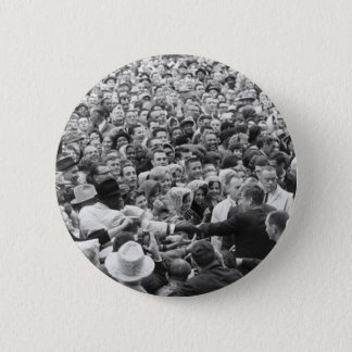 John F Kennedy JFK Fort Worth Rally '63 Pinback Button