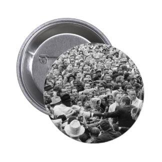 John F Kennedy JFK Fort Worth Rally '63 Pinback Button
