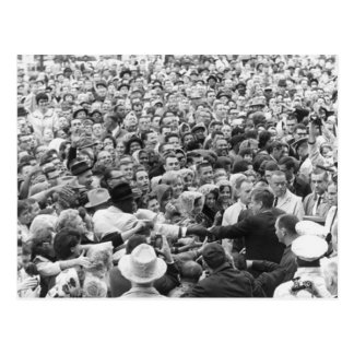 John F Kennedy JFK Fort Worth Rally '63 Postcard