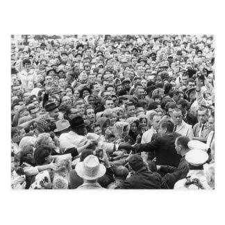 John F Kennedy JFK Fort Worth Rally '63 Post Card