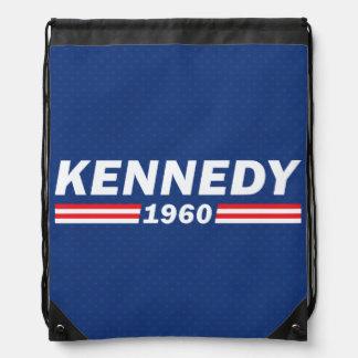 John F. Kennedy JFK, Kennedy 1960 Drawstring Bag