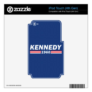 John F. Kennedy JFK, Kennedy 1960 Skin For iPod Touch 4G