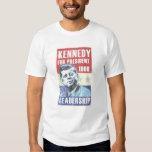 John F. Kennedy (JFK) - vintage - presidentes Day Camisas