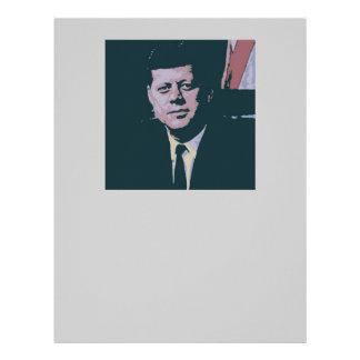 John F. Kennedy Membretes Personalizados