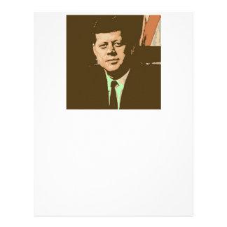 John F. Kennedy Plantillas De Membrete