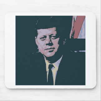 John F. Kennedy Mouse Pad