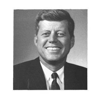 John F. Kennedy Notepad