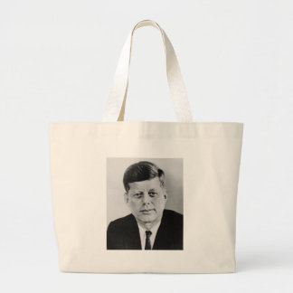 John_F_Kennedy official photo from public domain Large Tote Bag