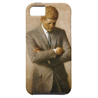 John F Kennedy Official Portrait by Aaron Shikler iPhone 5 Cover