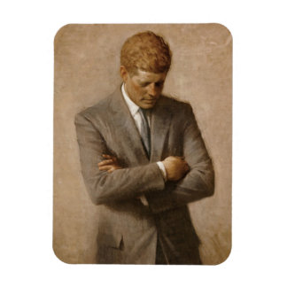 John F. Kennedy Official Portrait Magnet